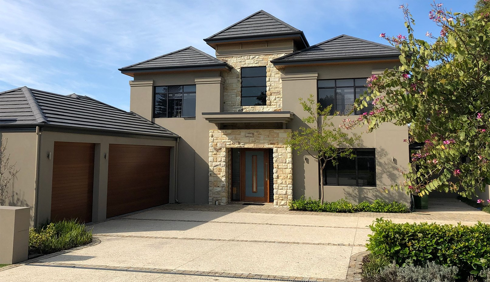 luxury residential 2 storey home by design construct perth