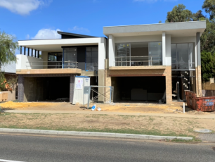 Cottesloe Twin Block Narrow Lot Luxury Home Builder Perth Construction
